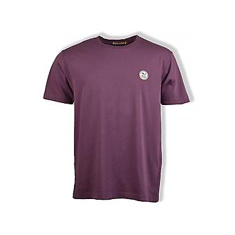 Nudie Jeans Co Uno NJCO Circle T-Shirt (Violet)