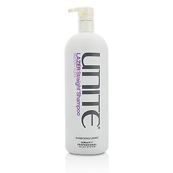 Lazer straight shampoo (glad strak) 215407 1000ml/33.8oz