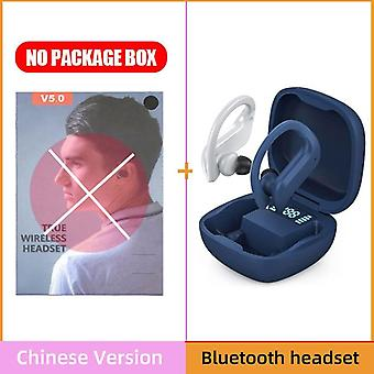 Tws Bluetooth Earphones Wireless Headphone Noise Cancelling Hifi Stereo Sport Headset Handsfree With Microphone