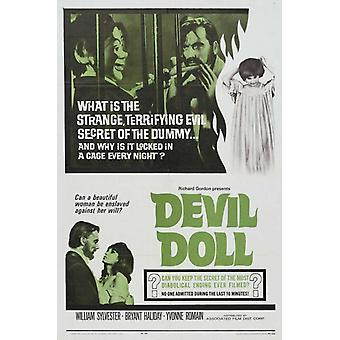 Devil Doll película Poster Print (27 x 40)