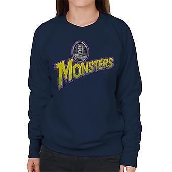 Universal Studios Monsters Home Of The Original Women's Sweatshirt