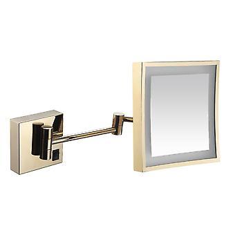 3x adaptador USB do espelho iluminado por LED 3x operado