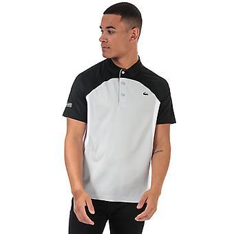 Lacoste Colourblock Polo skjorte for menn&aper i svart
