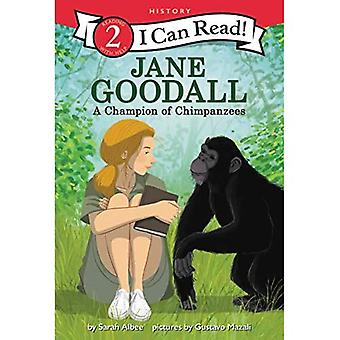 Jane Goodall: A Champion of Chimpanzees (I Can Read� Level 2)