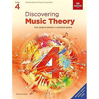 Discovering Music Theory, The ABRSM Grade 4 Answer Book (Theory workbooks (ABRSM))