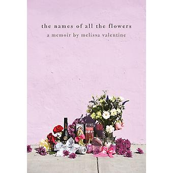 The Names Of All The Flowers by Melissa Valentine