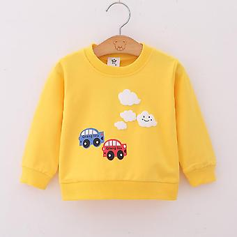 Hoodies, Sweatshirt, Çizgi Film Kalp Eşofman Giysileri Yenidoğan için, Yürümeye Başlayan Bebek