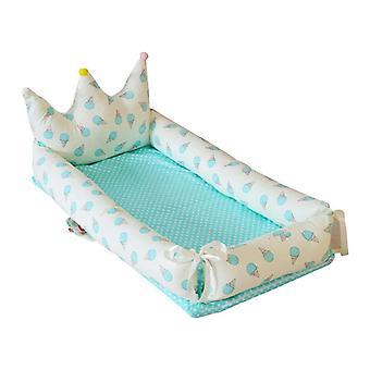 Newborn Babynest, Removable Baby Crib Bassinet/sleeping Basket