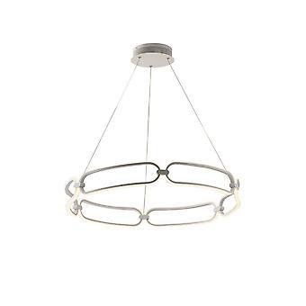 Geïntegreerde LED-ronde plafondhanger - 60Cm, Wit, 4000K