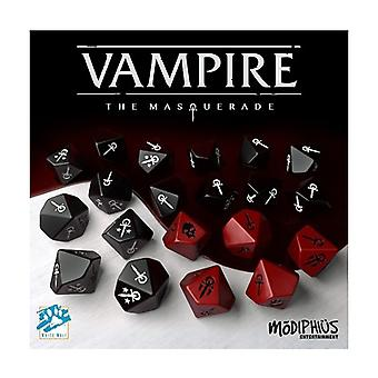 Vampire The Masquerade Dice Set (20 Custom 10-sided Dice)