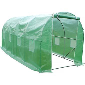 Invernadero tunel de jardín Althea - 9m² - 4.5 x 2 x 2 m