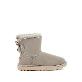 UGG - Shoes - Ankle boots - MINI_B_BOW_II_1016501_GOAT - Ladies - gainsboro - EU 39