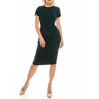 Sheath Dress With Lace Trims