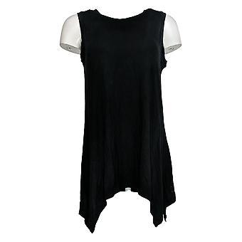 Cuddl Duds Women's Top Softwear Zakdoek Hem Blue A290613