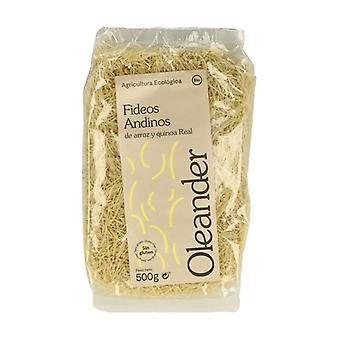 Andean rice and real quinoa noodles 500 g