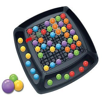 Regenbogen-Perlen-Spiel für Kinder Puzzle Magic Chess Regenbogen Ball passende Brettspiel