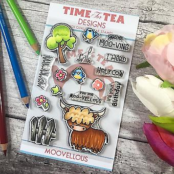 Time For Tea Moovellous Set Clear Stamps
