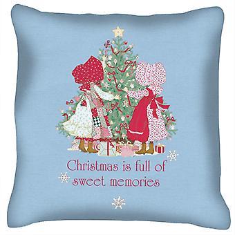 Holly Hobbie Christmas Sweet Memories Cushion