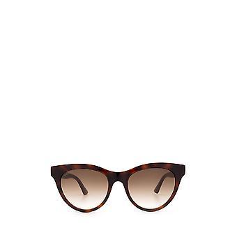 Gucci GG0763S havana żeńskie okulary przeciwsłoneczne
