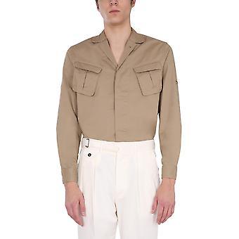 Lardini Elnico200 Men's Beige Cotton Shirt