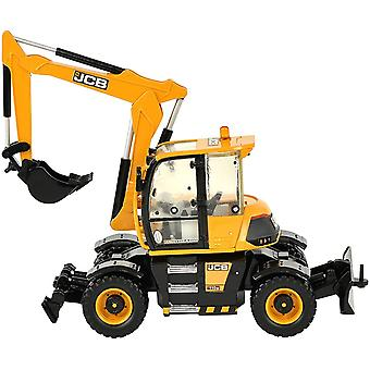 Britains 1:32 JCB Hydradig Tractor Toy, Collectable Farm Set Toy Tractors