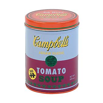 Andy Warhol Soup Can Red Violet 300 Piece Puzzle by Mudpuppy