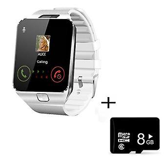 Digitaalinen kosketusnäyttö Älykello, Kamera, Bluetooth, Rannekello, Sim-kortti