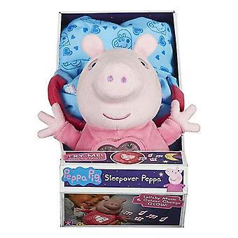 Jucărie pufoasă Bandai Peppa Pig Fiesta Pijama