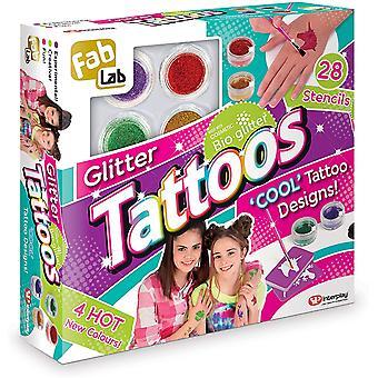 Interplay glitter tattoos
