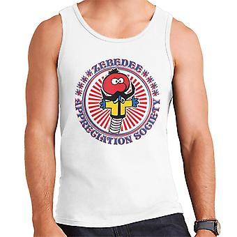 The Magic Roundabout Zebedee Appreciation Society Men's Vest