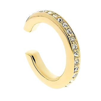 Traveller Ear cuff Gold palted Swarovski Crystals - 157411