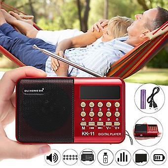 Fm Radio Speaker Handheld Digital Fm (avec batterie)