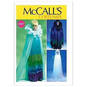 McCalls ompelu kuviot 6630 Misses Miesten puvut Cape Pullover Koko S-XL