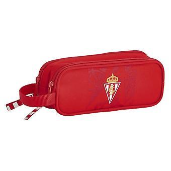 Holdall Real Sporting de Gijón Rojo