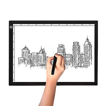 A4 LED Light Box Pad Drawing Tracing Board Tattoo Art Stencil Creative Artist