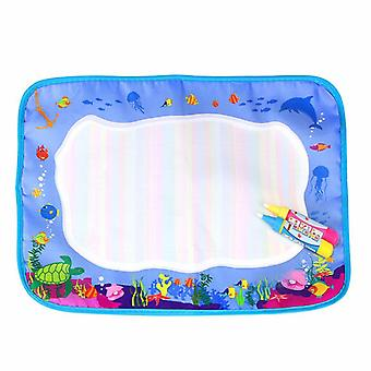 Magic doodle mat educational kids water drawing toys gift kt-22