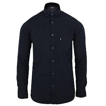 Hugo boss magneton 1 men's dark blue shirt