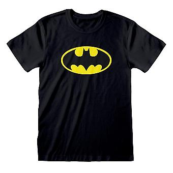 DC Comics Miesten Klassinen Batman Logo T-paita