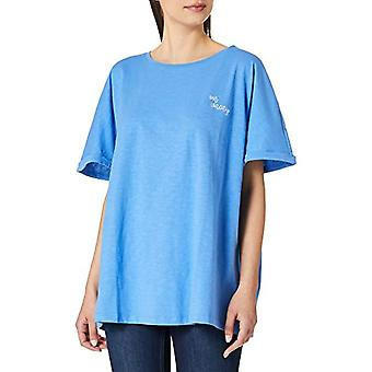 TOM TAILOR MY TRUE ME 1024893 Plussize Basic T-Shirt, 12050-Marina bay Blue, 52 Donna(1)