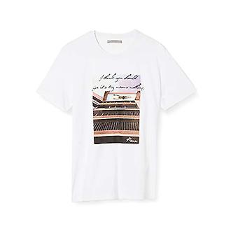Mexx T-Shirt, White (White 110600), Large Man