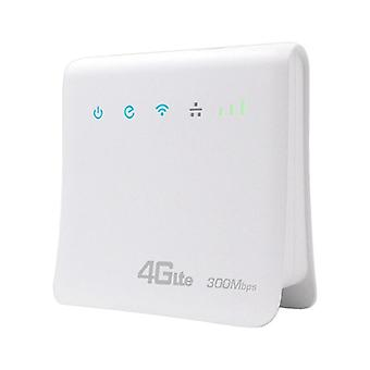 300 Mbps Wifi Routere 4G LTE CPE Mobile Router Support SIM Card bærbare trådløse routere