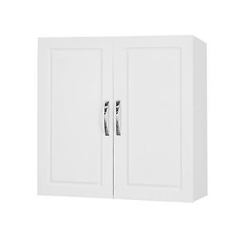 SoBuy FRG231-W, Küche Badezimmer Wandschrank mit Doppeltüren