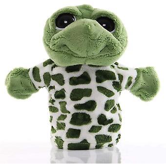 Schildpad h marionetten jungle dierlijke vrienden met werkende mond voor rollenspel dt5687