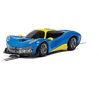 Metallic Blue Scalextric Rasio C20 Car