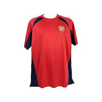 S Arsenal Poly Panel Tee rot Sack