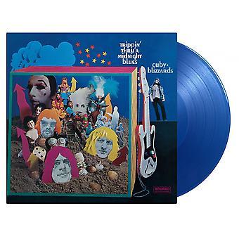 Cuby & Blizzards - Trippin' Thru' A Midnight Blues Limited Edition Transparent Blue Vinyl