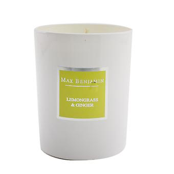 Max Benjamin Candle - Lemongrass & Ginger 190g/6.5oz