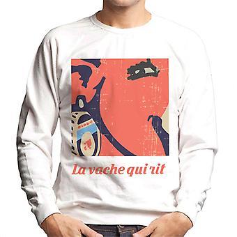 The Laughing Cow Earring Close Up Men's Sweatshirt