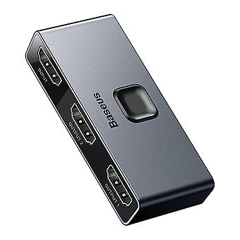 Dual Modes HDMI Splitter Two-way Switch 1-in-2 or 2-in-1 Digital Light Display Audio Video Switching