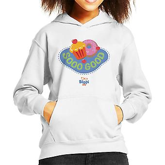 Blippi Desserts Are Sooo Good Kid's Hooded Sweatshirt